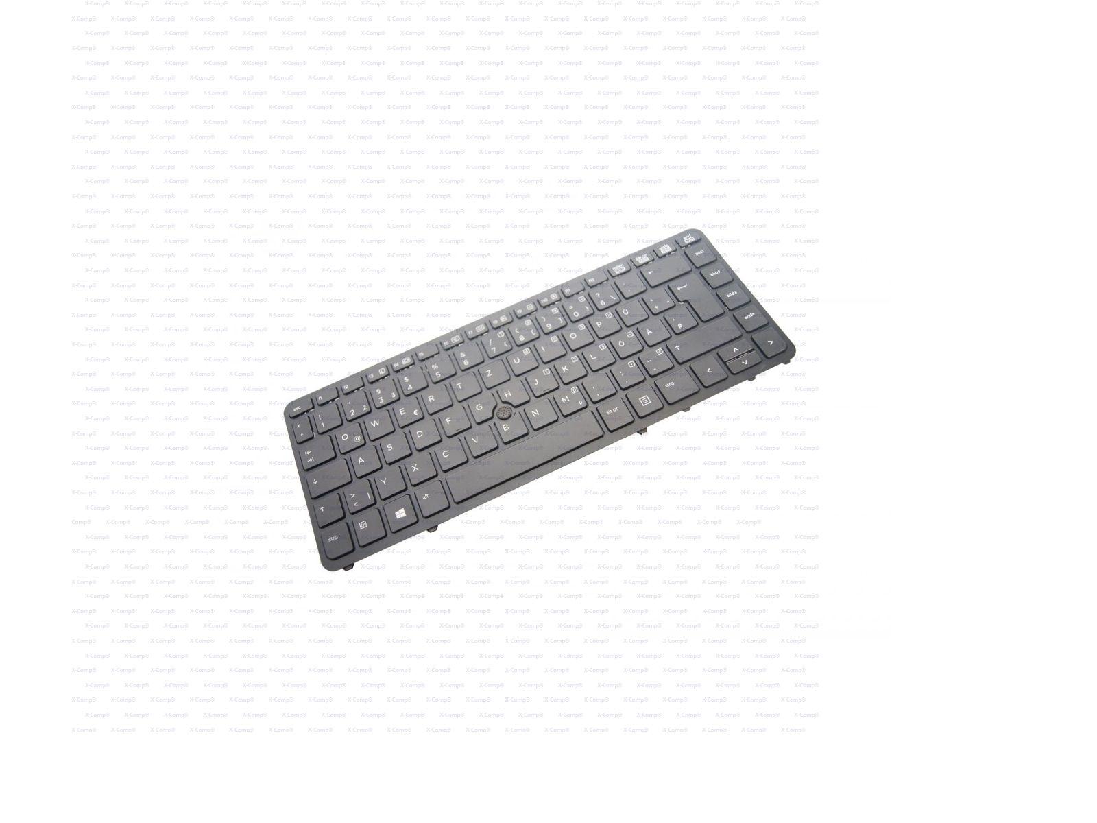 HP EliteBook 840 G1 Tastatur SN824 Rev:A01 Schwarz Deutsch für HP ...