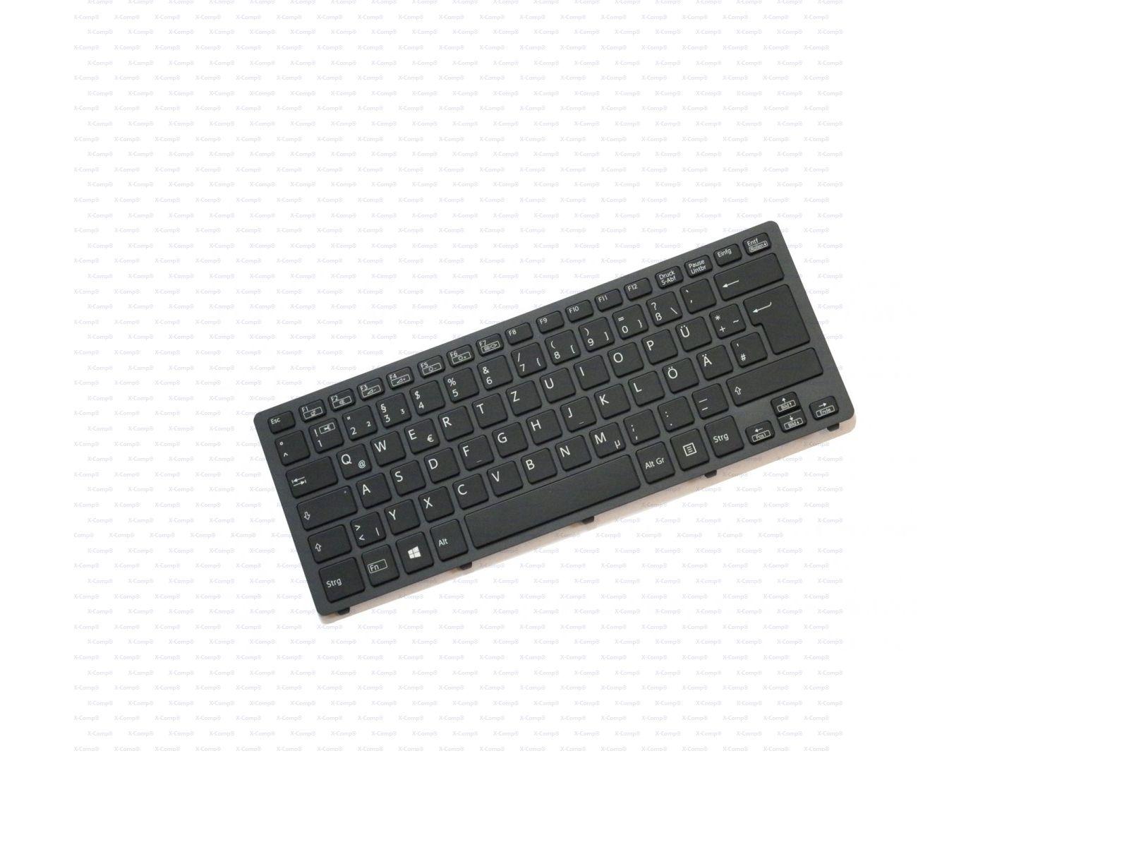 Sony VAIO SVF15N Tastatur Schwarz mit Rahmen inkl. Backlight für ...