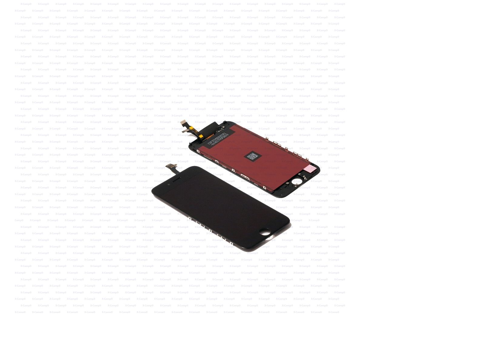 4,7'' Touchscreen Glass inkl.Digitizer Sensor Schwarz für iPhone 6